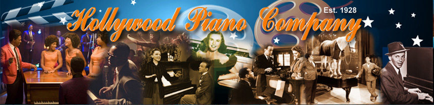 logo for Hollywood Piano Company