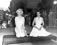 Marilyn Monroe and Jane Russell once played at Hollywood Piano Company