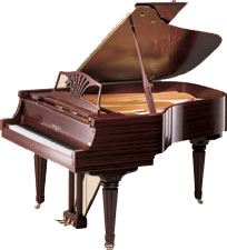 picture of Sohmer pianos by Samick