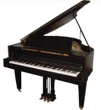 Los angeles baby grand piano dealer hollywood piano for Baby grand piano height