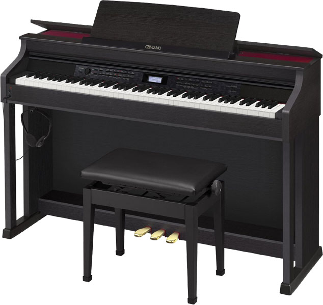 casio celviano ap 650 hollywood piano. Black Bedroom Furniture Sets. Home Design Ideas