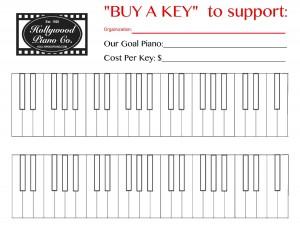 Hollywood Piano Buy A Key