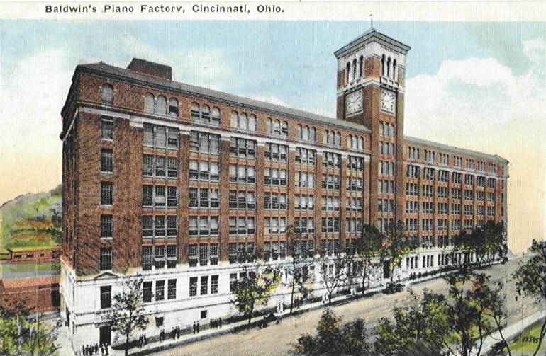 Baldwin factory exterior
