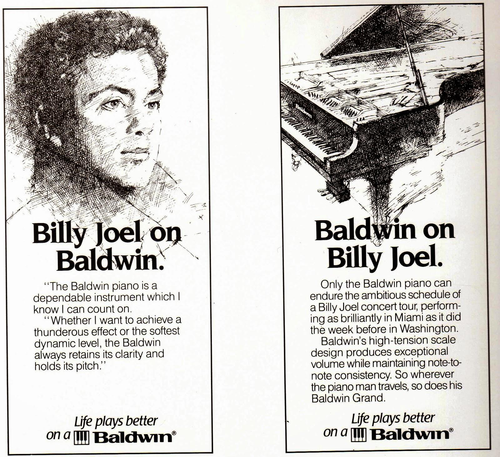 Billy Joel on Baldwin