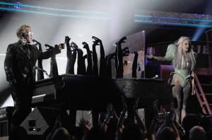 Elton_GAGA 52nd Grammy