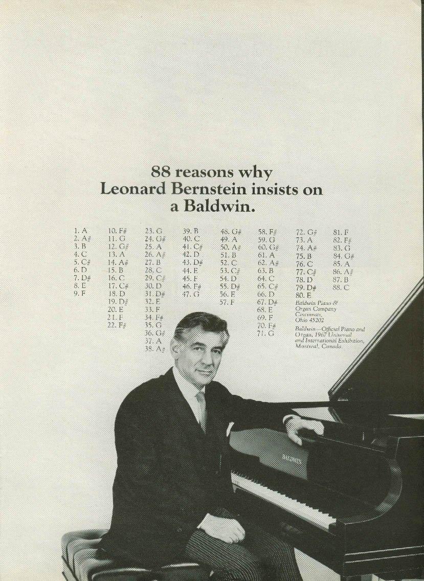 Leonard Bernstein Baldwin
